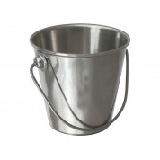 Premium Serving Bucket Stainless Steel 6 x 7cm (H x D) 15cl