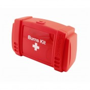 Burns First Aid Kit - Small Includes first aid guidance leaflet, Water-Jel Burn Dressings, Burn-Jel Sachets, Hypaband Safety Pins, Hypaband Conforming Bandages, HypaTouch Disposables Gloves, Clothing cutters