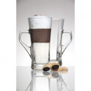 Geo Tall Coffee Glass 33.5cl