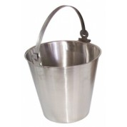 Stainless Steel Bucket, 12 Litres