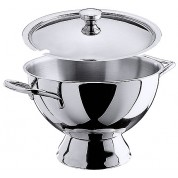 Soup Tureen Mirror Polished Finish 18/10 Stainless Steel 3.5 Litre