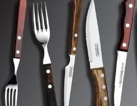 Steak Knives & Forks