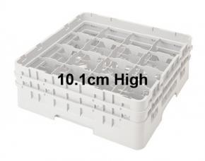 Camrack 10.1cm High 16 Compartment Glass Storage