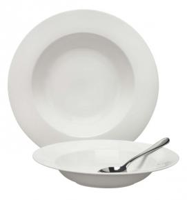 Rimmed Pasta Plate