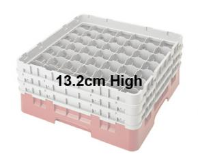 Camrack 13.2cm High 49 Compartment Glass Storage