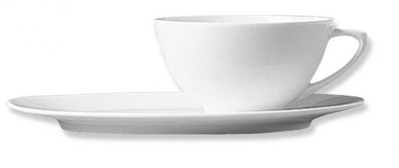 Oval Breakfast Saucer/Breakfast Cup