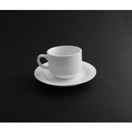 Stacking Tea Cup & Saucer