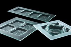 Axum - 4 Section Glass Dishes