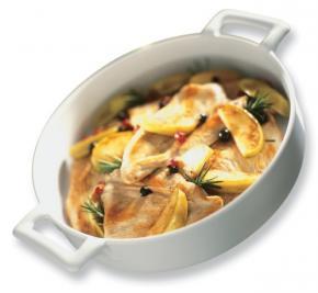 Belle Cuisine Deep Round Dish