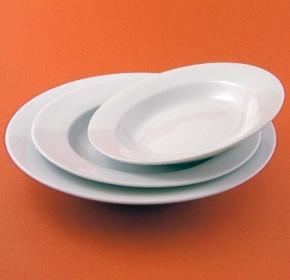 Value Whiteware Pasta Bowl