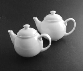 Value Whiteware Tea Pot