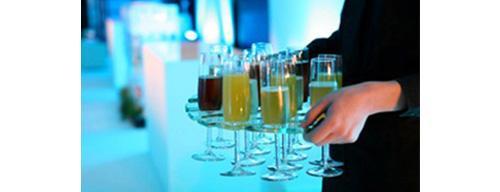 Champagne Glass Trays