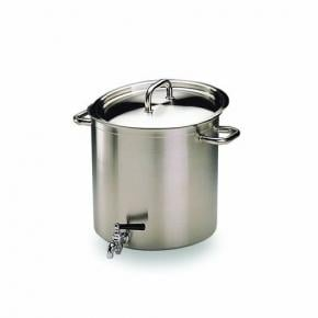 Stockpots with Lid & Tap