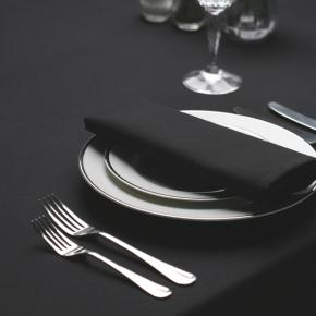 Black Tablecloth