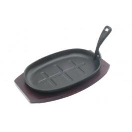 Sizzler Platter & Trivet 31.24cm