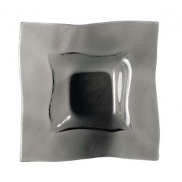 Dudson Elements - Fire Glass Square Bowl/Smoke 16cm DISCON