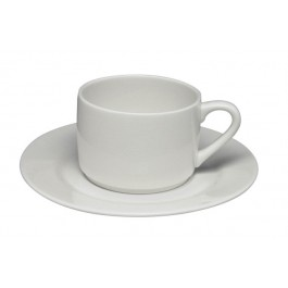 Elia Glacier Stackable Tea Cup 24cl
