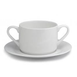 Elia Glacier Soup Cup Saucer 17.5cm