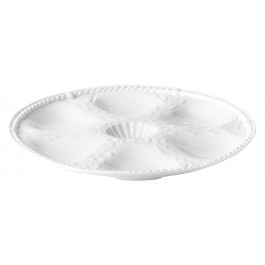 Oyster plate (6 hole) 25.5cm DISCON