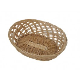 Bread Basket 22.5 x 17.5cm Wicker/Willow, Oval