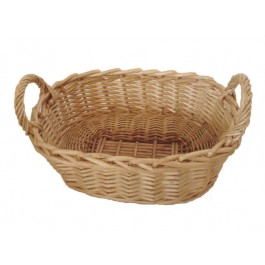 Bread Basket 30 x 20cm Wicker/Willow, Rectangular