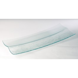 Steelite Ice Rectangular Divided Buffet Plate 66 x 28cm