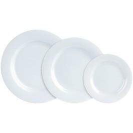 Porcelite Banquet Wide Rim Plate 26cm