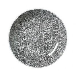 Steelite Ink Crackle Black Coupe Bowl 20.5cm