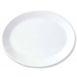 Steelite Simplicity White Oval Dish Coupe 20.25cm