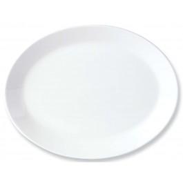 Steelite Simplicity White Oval Dish Coupe 28cm