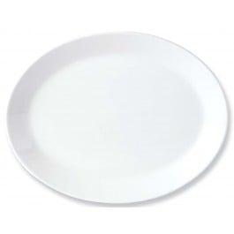 Steelite Simplicity White Oval Dish Coupe 34.25cm