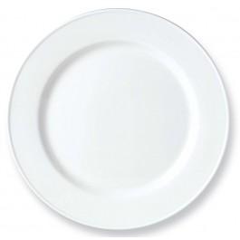 Steelite Simplicity White Plate Slimline 25.5cm