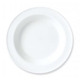 Steelite Simplicity White Soup Plate 21.5cm