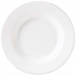 Steelite Simplicity White Soup/Pasta Plate Harmony 24cm