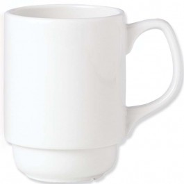 Steelite Simplicity White Beaker (stacking) 26cl
