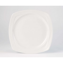 Steelite Simplicity White Harmony Square Plate 28cm