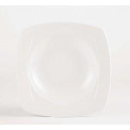 Steelite Simplicity White Harmony Square Bowl 23cm