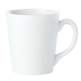 Steelite Simplicity White Coffeehouse Mug 26.25cl