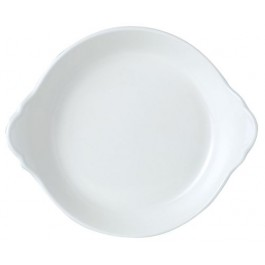 Steelite Simplicity White Round Eared dish 19cm