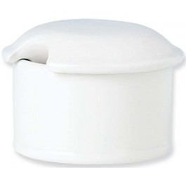 Steelite Simplicity White Mustard Pot Base/Dipp Pot 5.5cm x 3.5cm
