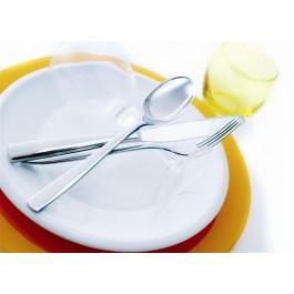 Vesca Steak Knife (Solid Handle) 18/10 Stainless Steel - Toughened