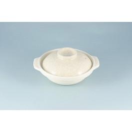 Oriental Range Donabe Crackle 5.5 Go, with lid 14.5cm