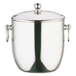 Connaught Ice Pail 3 Litres Stainless Steel Chrome Plated ring Handled