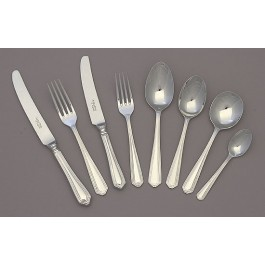 Chester Pastry Fork 10 Microns Silver Plated