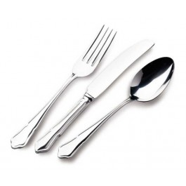 Dubarry EPNS Dessert Fork 10 Microns Silver Plated