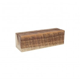 Nordic Natural Menu Block 12 x 4 x 4cm (LxWxH)