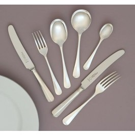 Rat tail EPNS Dessert Fork 10 Microns Silver Plated