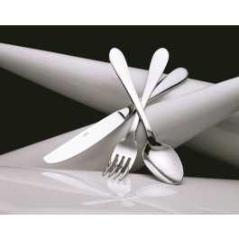 Glacier Cheese Knife (Solid Handle) 18/10 Stainless Steel