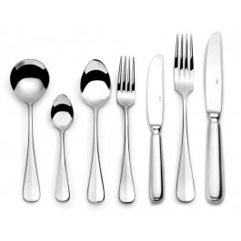 Meridia Pastry Fork 18/10 Stainless Steel, Polished finish