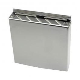 Wall Fix Knife Box Stainless Steel 30 x 32 x 6.5cm